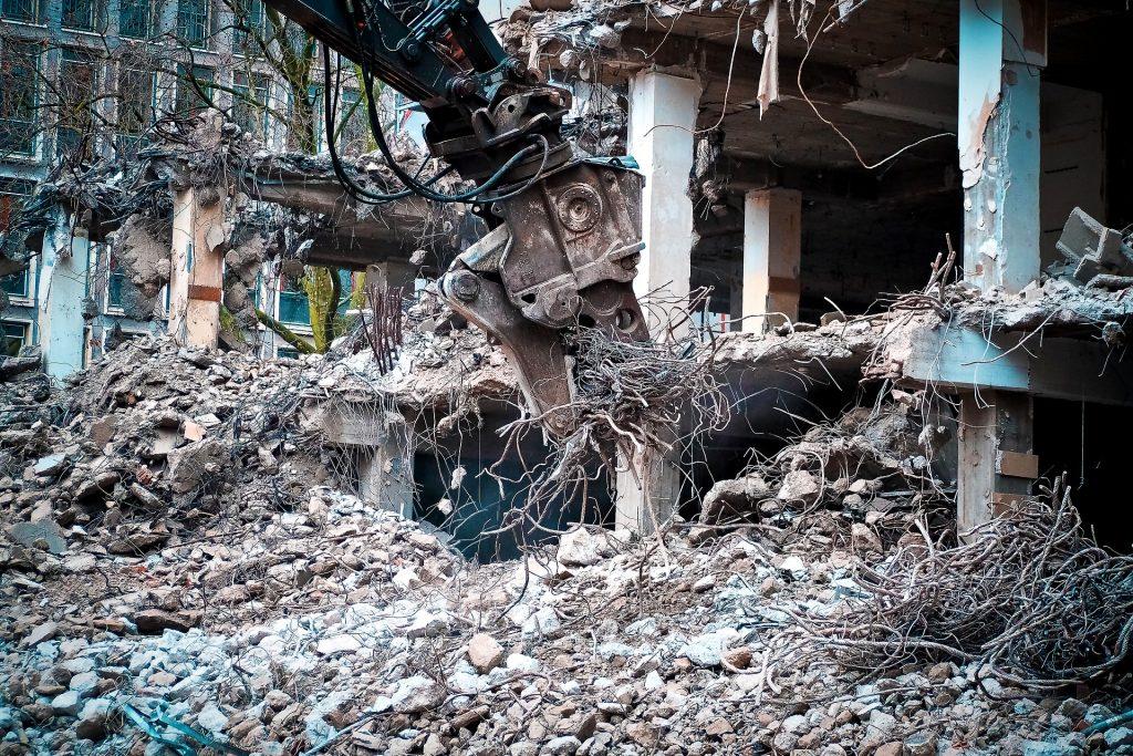 Demolición de hormigón - Demoliciones y Derribos