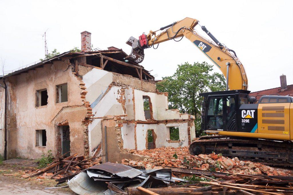 demolicion de casa - demoliciones y derribos